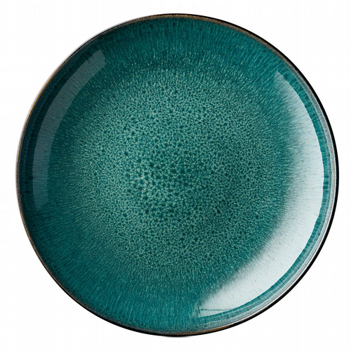 Stoneware - Giant Serving Dish 40cm - Green / Black